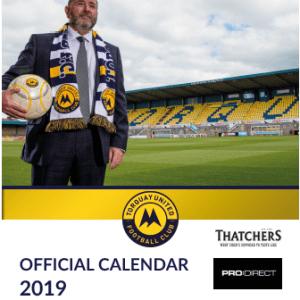 TUFC 2019 Calendar