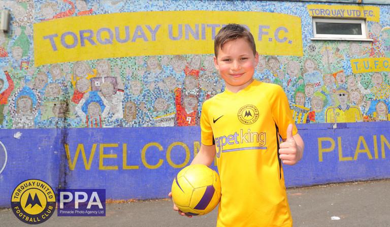 Torquay United v Hungerford Town, Torquay, UK - 22 Apr 2019